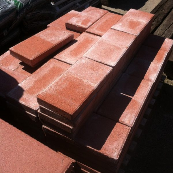 2 inch Red Concrete Masonry Unit (Soap Block)