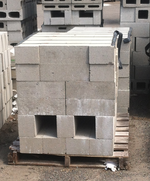 6 Inch Solid Concrete Masonry Unit