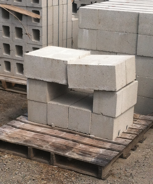 8 Inch Solid Concrete Masonry Unit