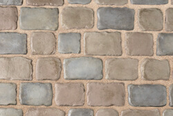 Courtstone Pebble Taupe Dawn Mist Mix Paver