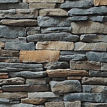 Fog Southern Ledgestone Manufactured Stone Veneer