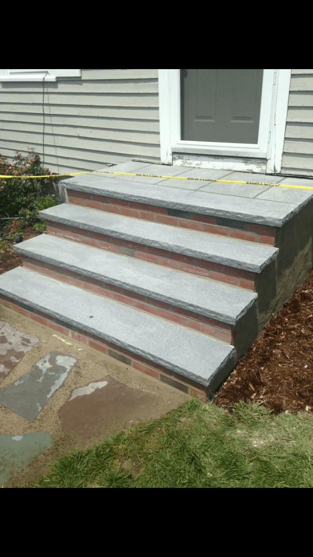Brick Block Amp Stone Staircases Masonry Contractor Norwood