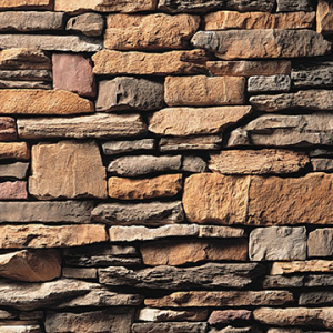 Rustic Southern Ledgestone Manufactured Stone Veneer