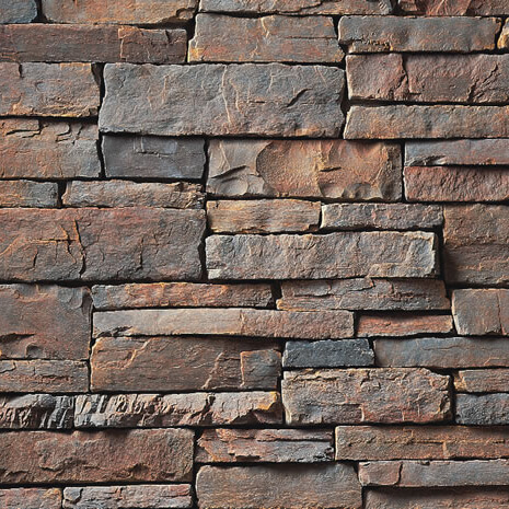 Shale Country Ledgestone Manufactured Stone Veneer