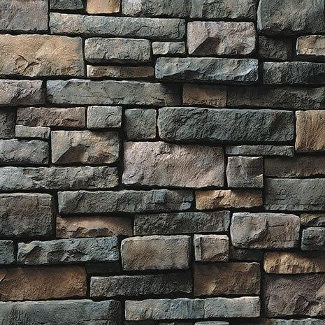 Suede Drystack Ledgestone Manufactured Stone Veneer