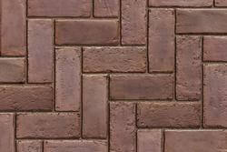 Town Hall Burgundy Red Paver