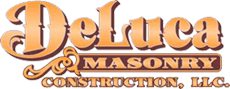 deluca masonry logo for footer