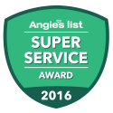 angies' list super service award badge