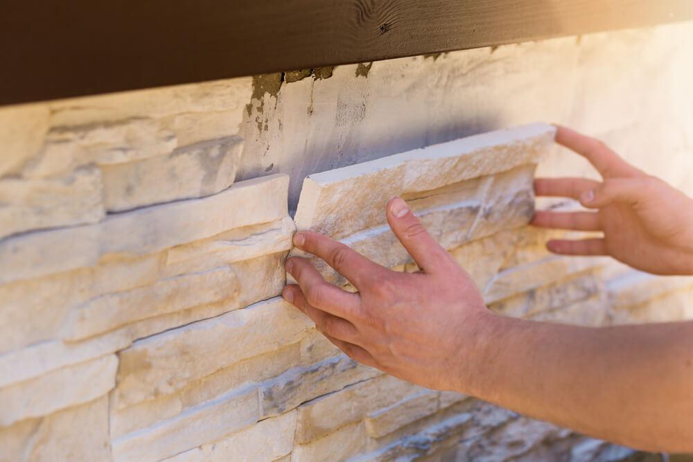 stone veneer installation